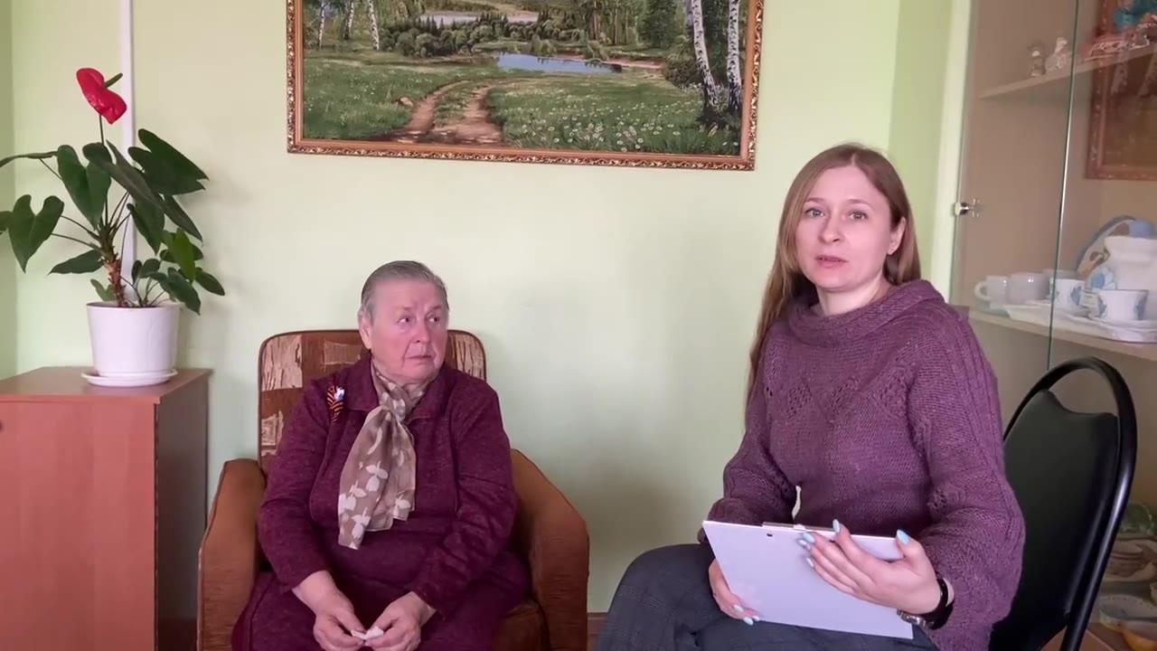 Махалина Нина Александровна , Тульская область, деревня Рождественка