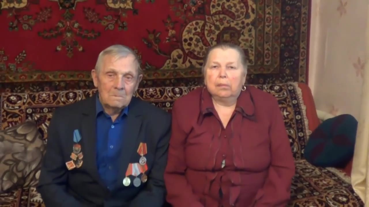 Распопины Сергей Максимович и Надежда Григорьевна (труженики тыла), г. Новосибирск