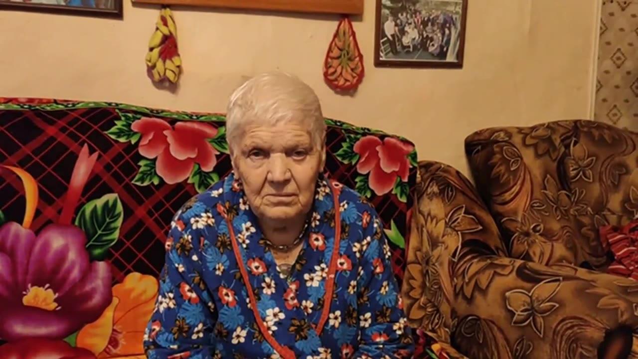 Беляева Анна Егоровна - труженик тыла, Село Ильинка Доволенского района Новосибирской области