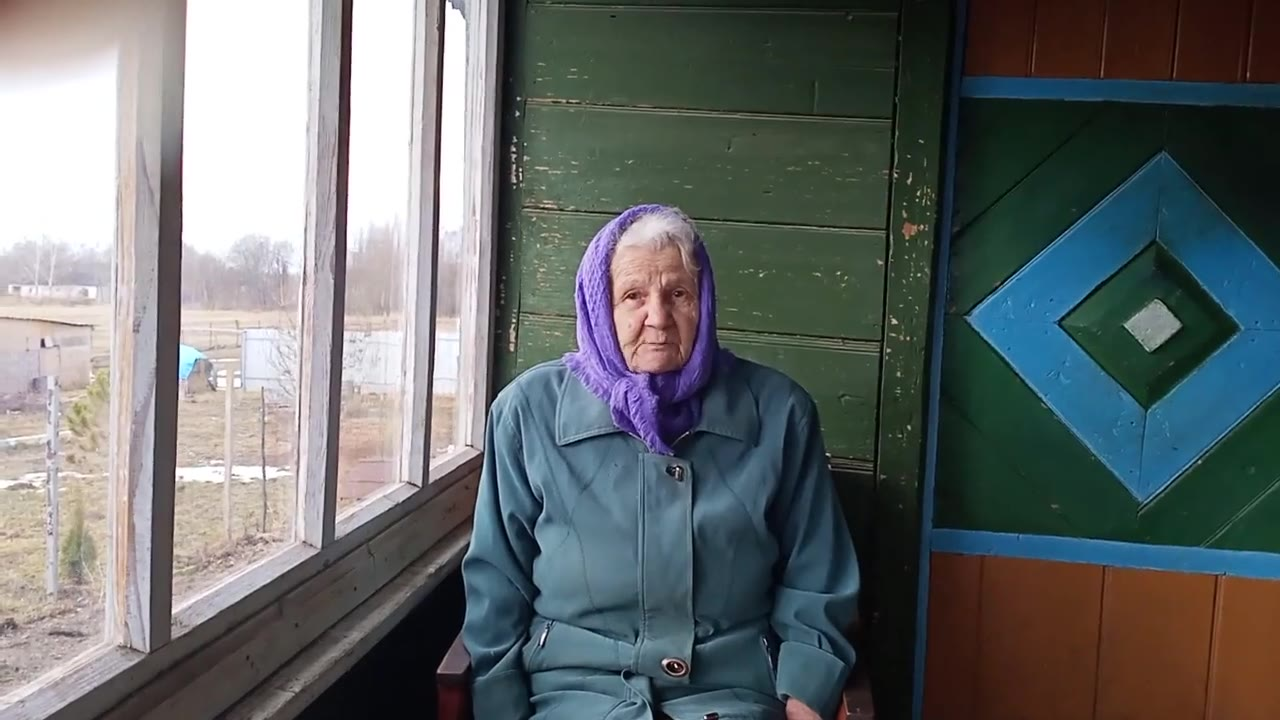 Ряхина Мария Ильинична, Тверская область, Зубцовский район, деревня Дерибино