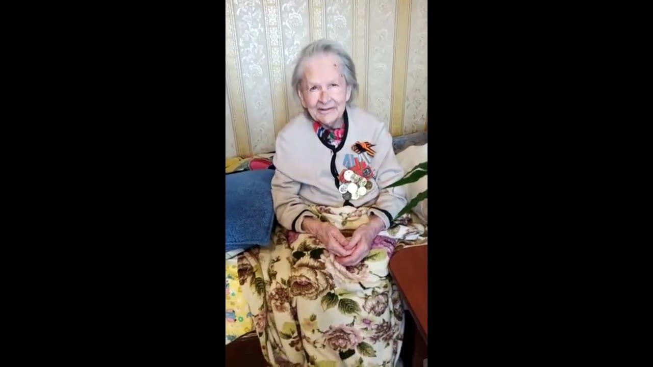 Шнырева Анна Григорьевна, труженица тыла, Обнинск