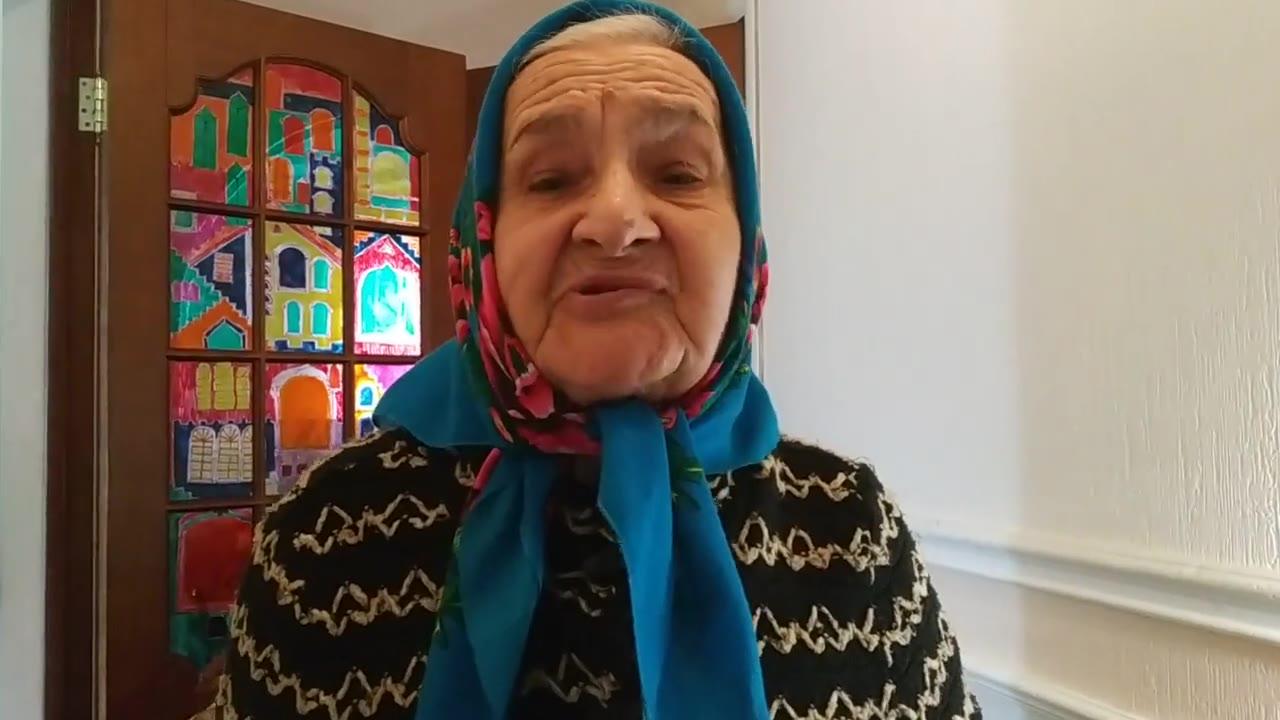 Долгова Людмила Семёновна, 85 лет, ребенок войны, отец пропал без вести в 1941, мама умерла в 1944, Tomsk