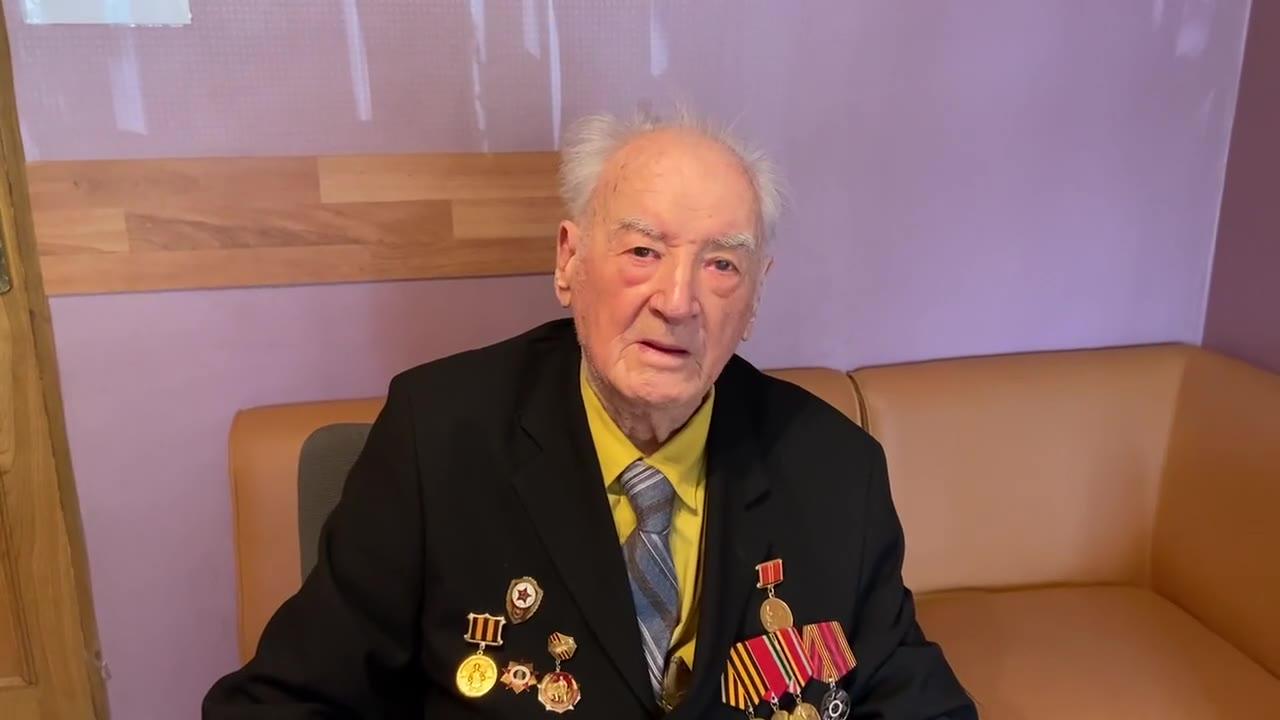 Карпук Владимир Федорович ветеран ВОВ, Москва